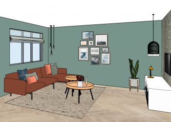 Familiewoning woerden - interieurplan 2