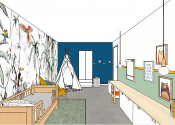 Ontwerp Kinderkamer Milan - hoofdfoto